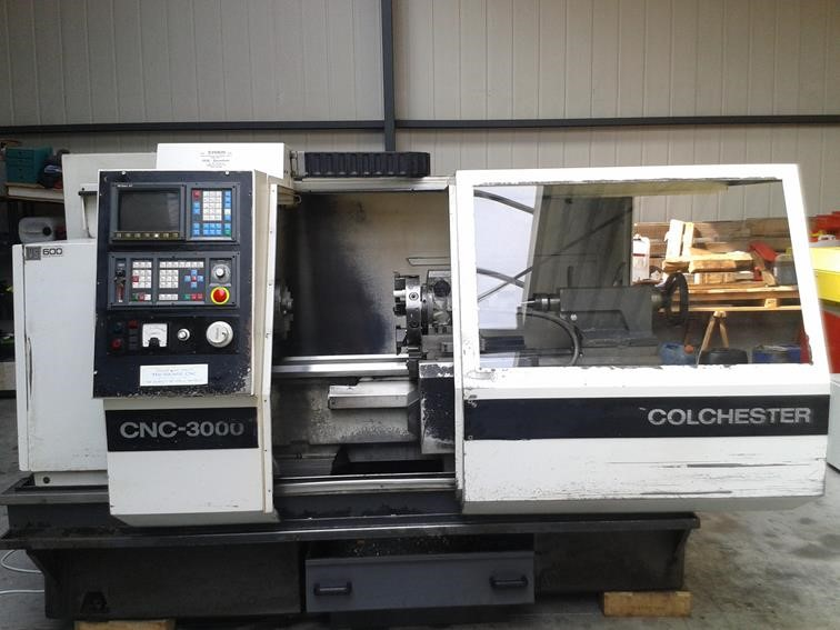 Colchester cnc 3000 solutions machines outils for Bed tech 3000